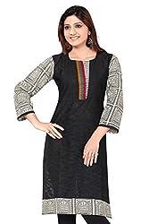 SK Kurtis Womens Cotton Kurtis, Long Kurtis, Casual Kurtis, Designer Kurtis For Women (Size : Large) (SK0366-L)