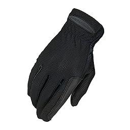 Heritage Pro-Flow Summer Show Glove, Black, Size 7