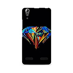 TAZindia Designer Printed Hard Back Case Cover For Lenovo A6000
