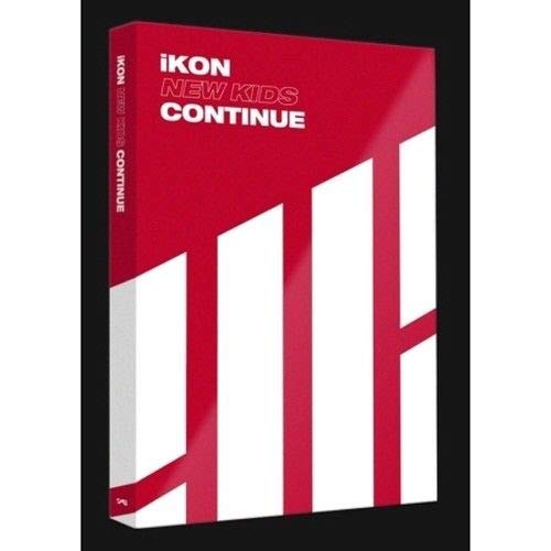 CD : Ikon - New Kids: Continue [Red version]