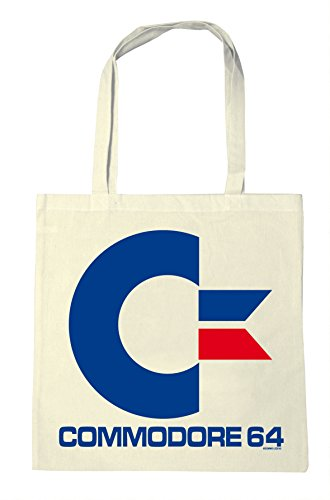 * NEW * Officially Licensed Commodore 64 Logo Shopping Bag. High quality made from 100% cotton.
