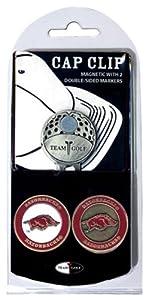 Buy NCAA Arkansas Razorbacks 2 Marker Golf Cap Clip by Team Golf
