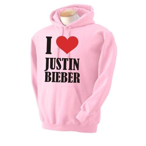 i love justin bieber hoodie. I Love Justin Bieber Hoody