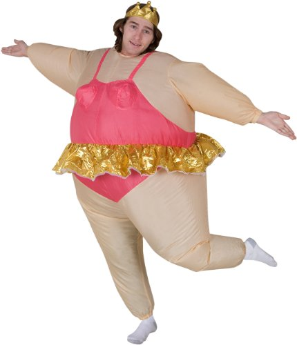 Inflatable Ballerina Adult Costume - Adult Costumes