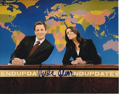 Cecily Strong Signed Saturday Night Live 8X10 Photo