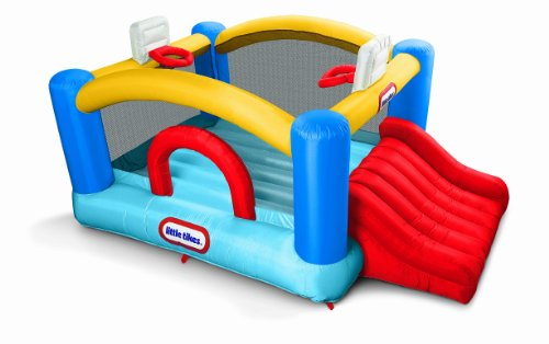 Jr. Sport & Slide Bouncer