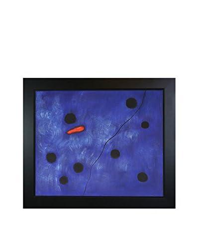 Joan Miro Bleu I Framed Hand-Painted Reproduction