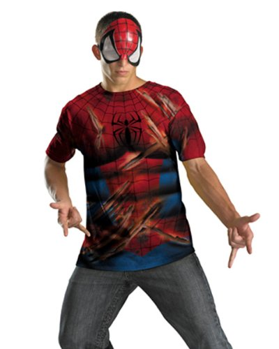 Disguise Inc - Spider-Man Shirt And Mask Adult Costume