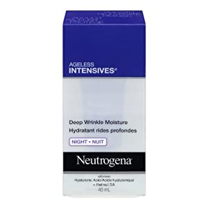 Neutrogena Ageless Intensives Moisturizing Deep Wrinkle Night Cream, 40ml