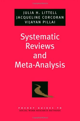 Systematic Reviews and Meta-Analysis (Pocket Guides to...
