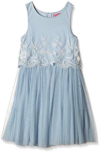 Derhy CARMEN ROBE TULLE-Vestito  Bambina    Blu (Bleu/Pétrole) 6 anni