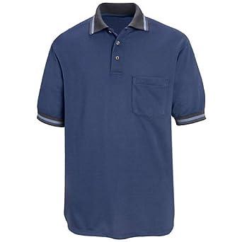 Buy Red Kap SK08 Mens SS Performance Knit Diamond Pattern Shirt by Red Kap