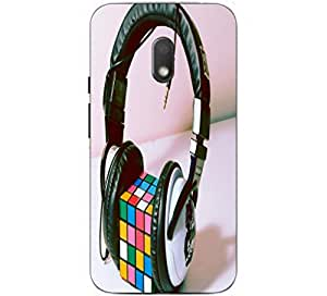 Joe Printed Plastic Back Case For Motorola Moto G4 Play Mobile ( Multicolor)
