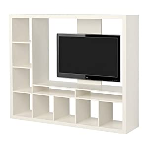 "Ikea Expedit Entertainment Center Tv Stand up to 55"" Flat Screen Tvs"