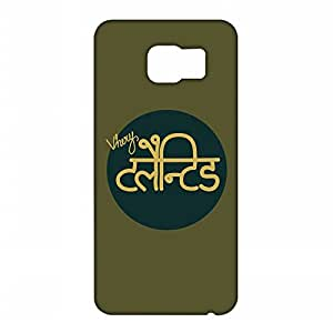 RANGSTER Very Talented-Ophis Ophis Matte Finish Mobile Case For Samsung Galaxy S6 Edge (SM-G925I)-Green