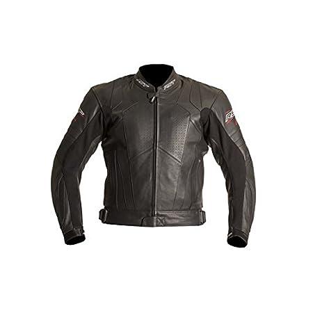Nouvelle RST lame 1056 moto Leather Jacket rouge