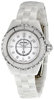 Women's H2570 J12 Diamond Dial Watch by Chanel
