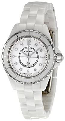 Chanel Women's H2570 J12 Diamond Dial Watch from Chanel