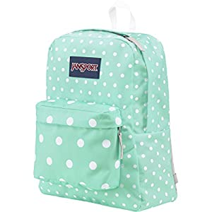 JanSport Women's Superbreak Aqua Dash Spots Backpack