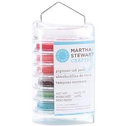 Martha Stewart Vintage Girl Ink Pad Multipack 6/Pkg Floral