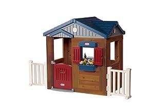 Little tikes 172854e3 maison de jardin en bois jeux et jouets - Maison de jardin little tikes colombes ...
