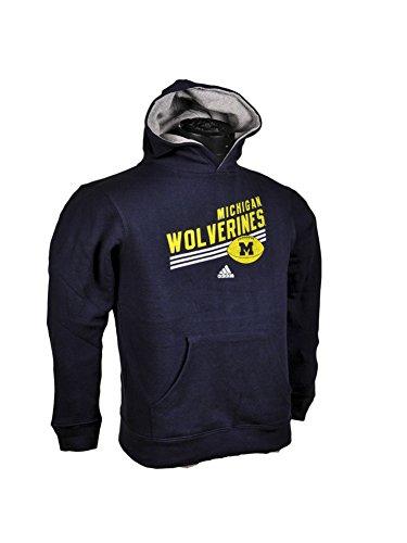 Michigan Wolverines Kids Hooded Sweatshirt Stripes Up senator michigan l 3