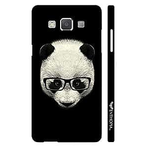 Samsung Galaxy E5 Geeky Panda designer mobile hard shell case by Enthopia
