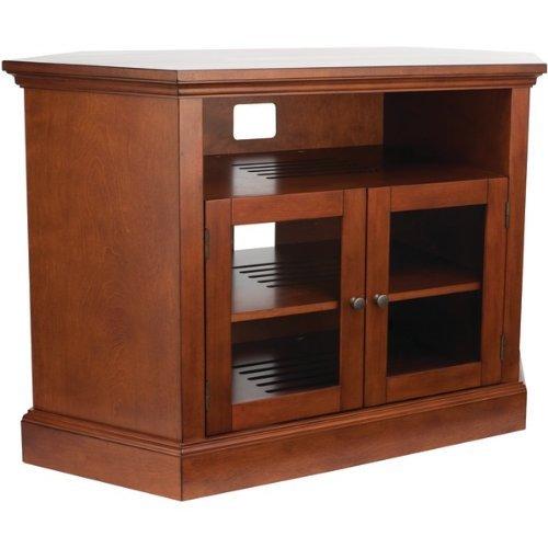 "Sanus BFAV48-CN1 Basic Foundations 48"" Wood Corner TV Stand"