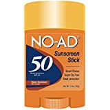 No-Ad Spf#50 Sport Body + Face Sunscreen Stick 1.5oz
