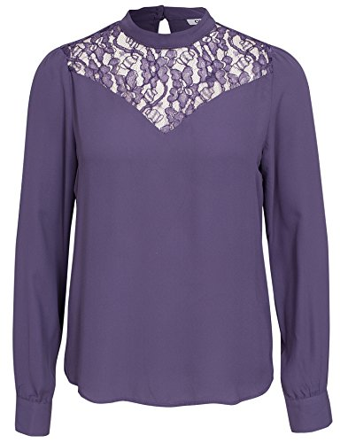 Bewertung für Only Damen Andrea Highneck Bluse Purple Velvet EU 34