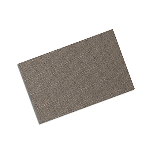 "Tapecase 3M Cn3490 4"" X 4""-25 Gray Non-Woven Conductive Fabric Tape, 4"" Length, 4"" Width, Squares (Pack Of 25)"