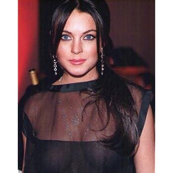 ブロマイド写真★リンジー・ローハン Lindsay Lohan/セクシードレス