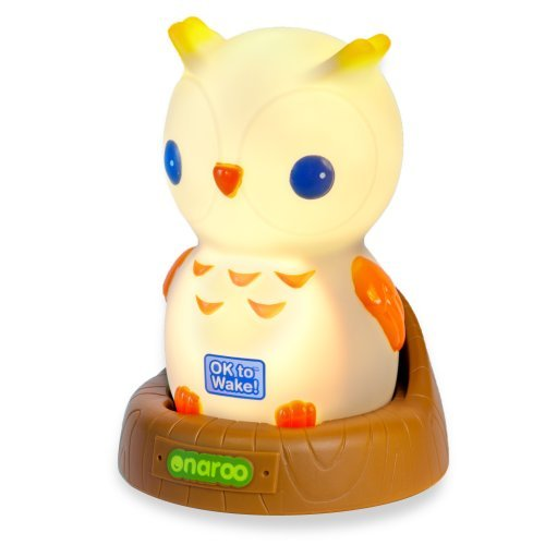 Onaroo Night Owl Portable Night-Light With Ok To Wake! Newborn, Kid, Child, Childern, Infant, Baby