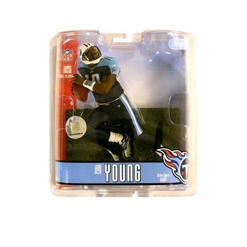 "Vince Young Tennessee Titans ""Blue Pants"" Variant McFarlane NFL Series 15 Action Figure"