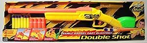 Double Shot Rifle w/ 6 darts & 4 shells