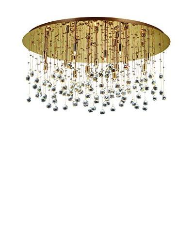EVERGREEN LIGHTS Lámpara De Suspensión MOONLIGHT PL15 Oro