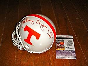 Johnny Majors Signed Tennessee Volunteers Mini Helmet - JSA Certified - Autographed... by Sports+Memorabilia
