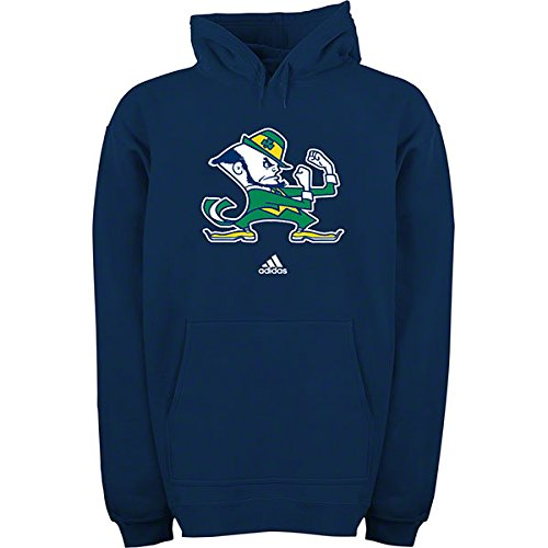 Notre Dame Fighting Irish Hoodie Leprechaun Logo Adult Size Small Hooded Sweatshirt - Adidas Navy Blue заглушка торцевая legrand 80х50мм 10722