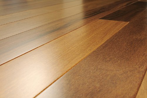 5 inch Greenland Solid Hardwood Brazilian Teak (Cumura) Natural Flooring (6 inch Sample)