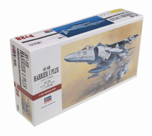 Hasegawa 1/48 Av-8B Harrier Ii front-1038001