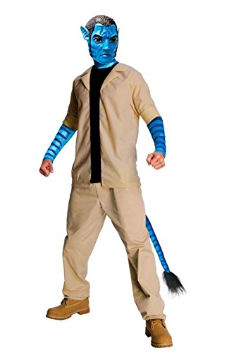 Rubies Mens Avatar Movie Characters Jake Sulley Fancy Dress Costume