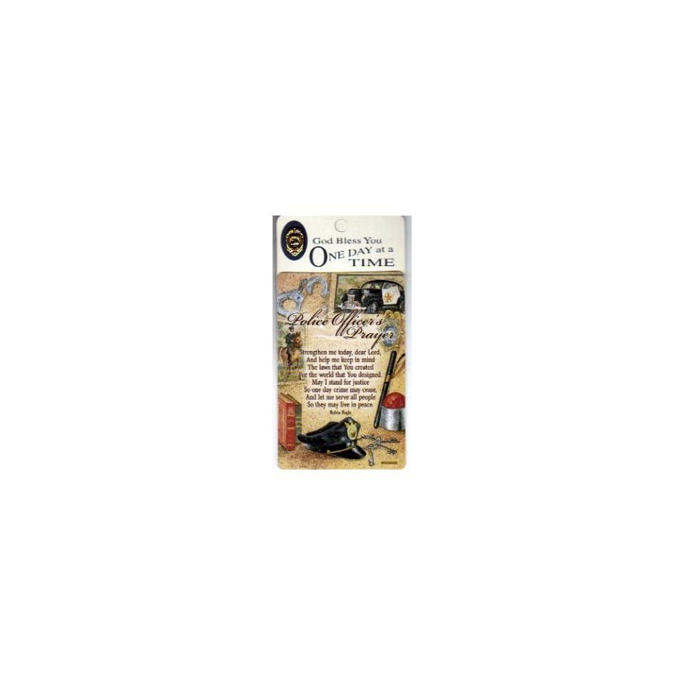 Police Officers Prayer/Pocket Card Lapel