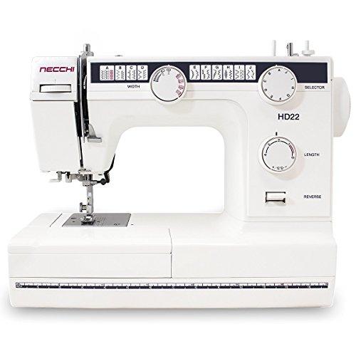 Necchi HD22 Mechanical Sewing Machine (Necchi Sewing Machine Zipper Foot compare prices)