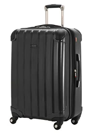 Ricardo Beverly Hills Luggage Pasadena 2.0 24-Inch Expandable Spinner Upright, Black, Large
