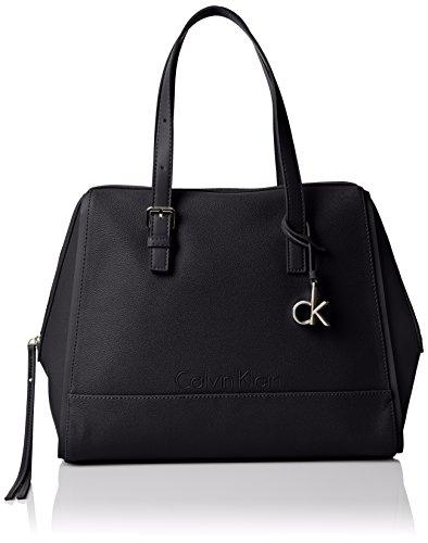 Calvin Klein - MELISSA SATCHEL, Borse da donna, black, OS