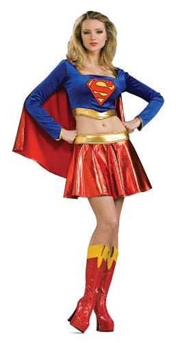 Supergirl Costume Sexy Superhero Adult Costume 888441