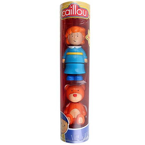 Caillou Collectible Figures - Rosie and Teddy - 1