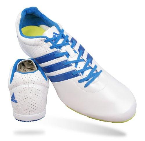 Adidas Adizero MD Mens Running Spikes / Shoes - White