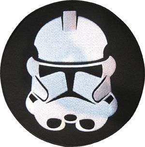Star Wars Clone Trooper Logo Embroidered Iron On Jacket Back Movie Patch XLG