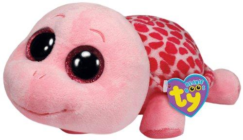 Imagen de Ty Beanie Boos Myrtle tortuga de peluche, Rosa